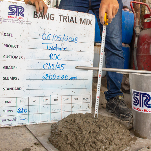 Saigon-RDC Product - Long Retention Concrete